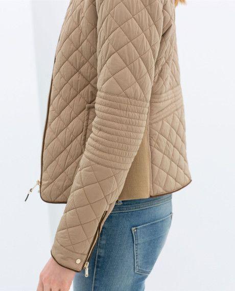 ralph lauren quilted jacket women beige - Pesquisa Google