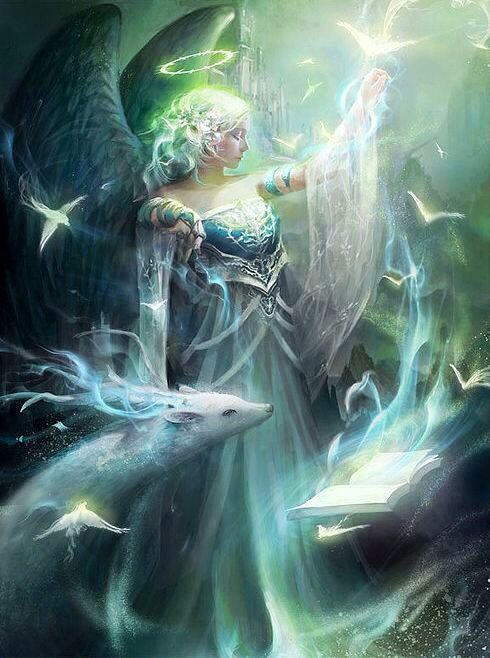 Artist: Nguy Thuy Ngan aka thuyngan - Title: black wing angel