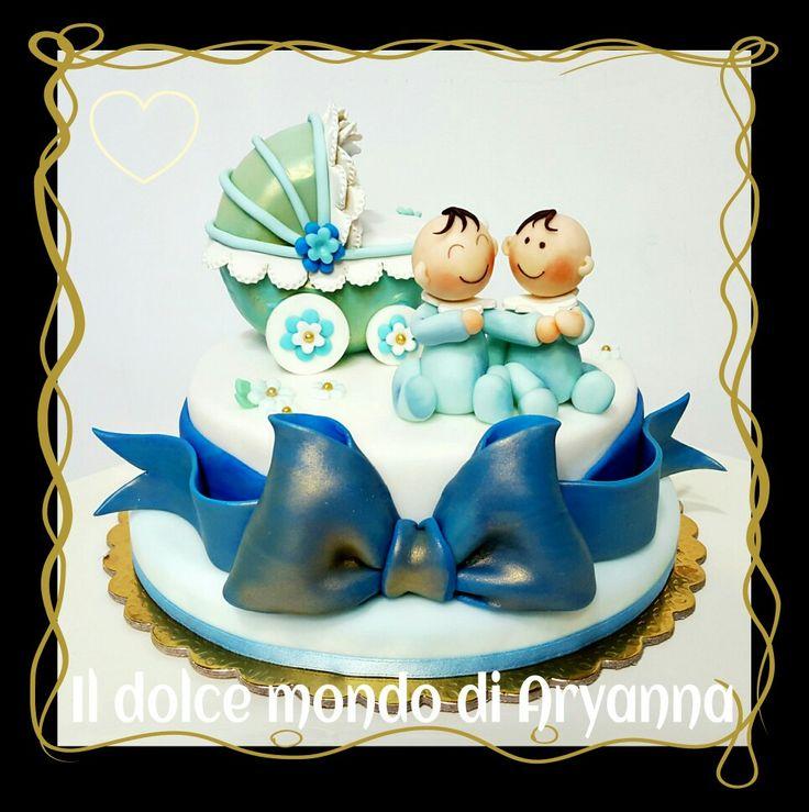 Il Battesimo di due graziosi gemelli