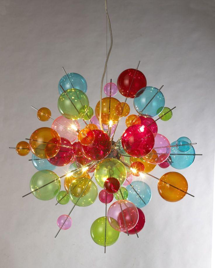 atomic lighting. contemporary lighting atomic rainbow retro pendant light to lighting