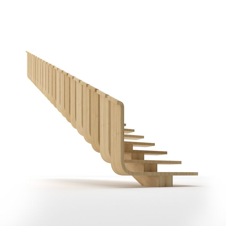 Элитная деревянная лестница Ф1 - luxury wooden stairs F1