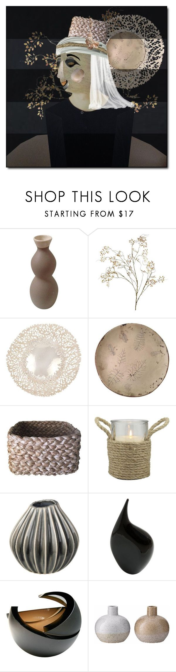 """""""Unconventional Art Challenge"""" by ollie-and-me ❤ liked on Polyvore featuring interior, interiors, interior design, home, home decor, interior decorating, Pier 1 Imports, Pomeroy, Stonebriar Collection and Anna Torfs"""