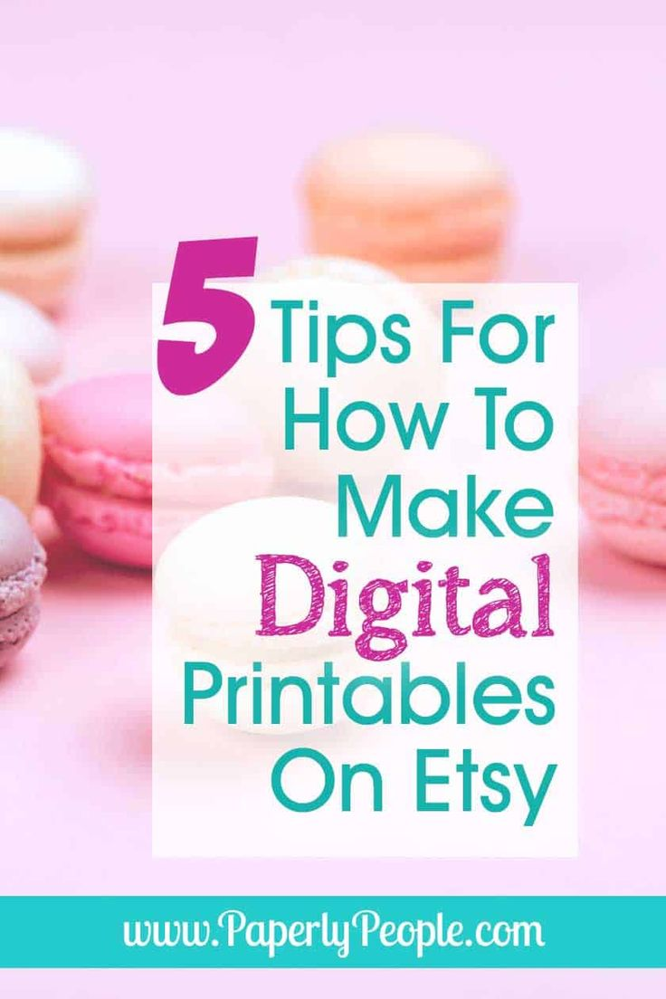 How to make and sell digital printables on etsy in 2020
