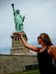 Statue of liberty, Island Of liberty, New York, USA