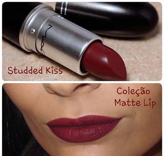 Studded kiss