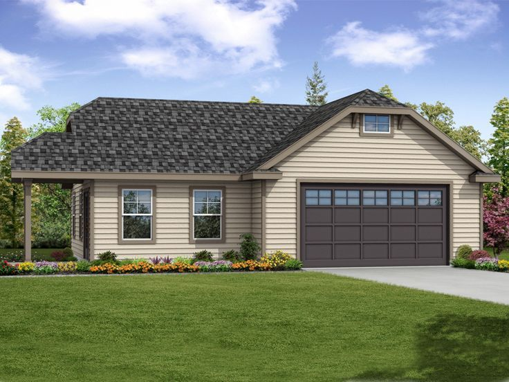 19 best garage plans with flex space images on pinterest for Garage plans with shop space