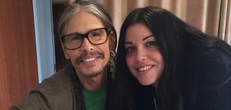 Mia Tyler, the daughter of Aerosmith frontman Steven Tyler, shared a series of photos after welcoming son Axton with Dan Halen.