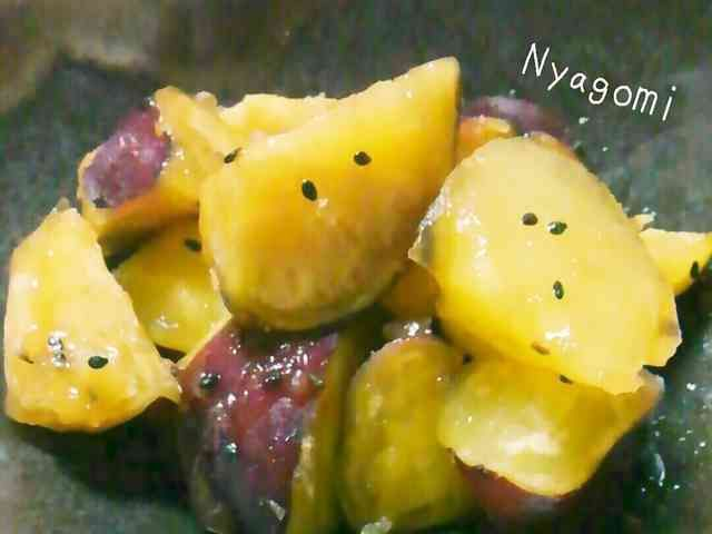 炊飯器で★さつまいも☆簡単★大学芋 の画像