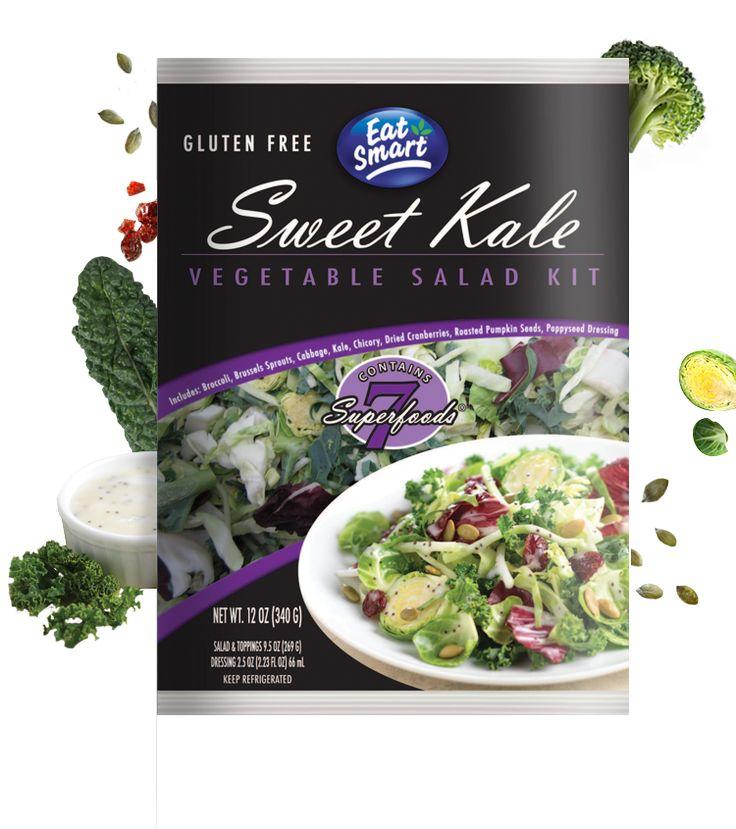 Sweet Kale Gourmet Vegetable Salad Kit