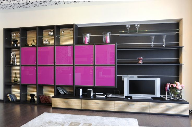 living room fitted cabinets - Google Search