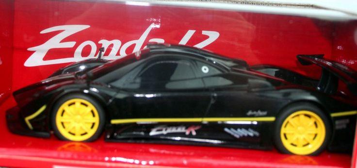 Ferngesteuertes Auto  RC Pagani Zonda R 1:24 Vollfunktion schwarz
