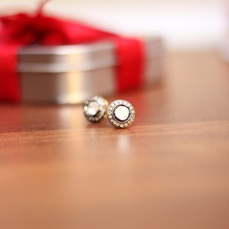 Diamond Cocktail Earrings - A truly stunning creation bringing together rustic uncut diamond with beautiful solitaires.