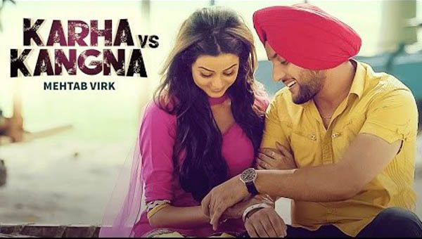Karha Vs Kangna Lyrics from Punjabi Song 2016 is sung by Mehtab Virk. This song lyrics penned by Deep Arraicha. This song music given by R Guru.