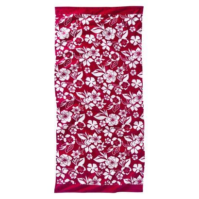 awesome beach towels. pink hibiscus beach towel $12.99 awesome towels a