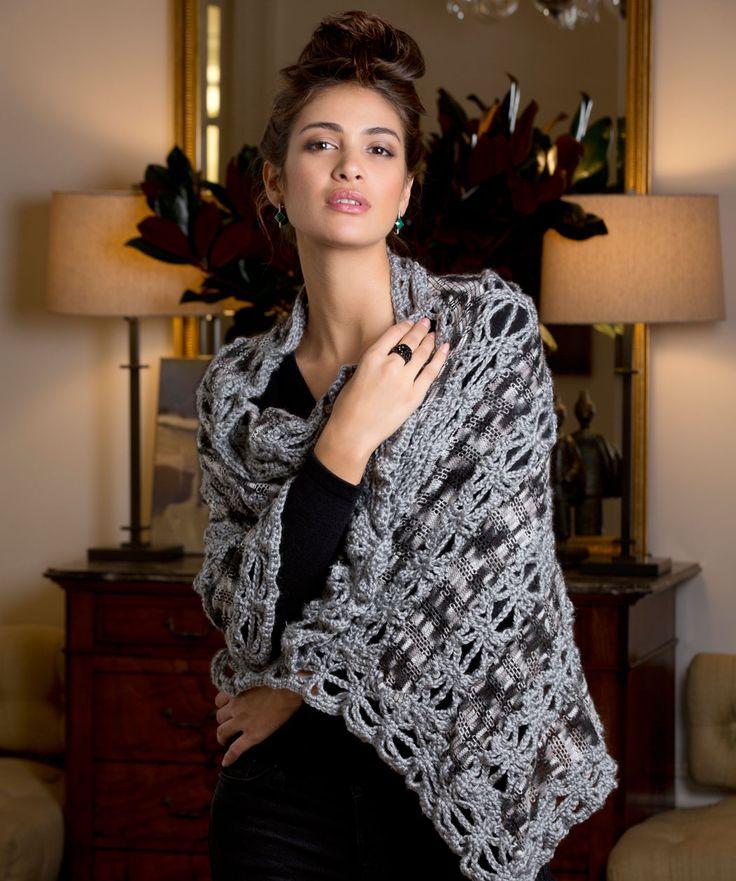Outstanding Sashay Yarn Scarf Crochet Pattern Model Sewing Pattern