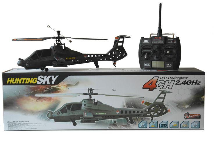 FX60 Commanche RTF Single Rotor RC Helikopter - 2.4 GHz - 4 Kanals    RTF Commanche RC Helikopter med gode flyve egenskaber. Nem at styre, men alligevel udfordrende for den mere øvede pilot grundet de 4 kanaler.  Flyve indendørs eller udendørs ved lave vindhastigheder.      45 cm.   Single Rotor   Fast Pitch med Gyro   LCD monitor   2.4GHz, 4 kanals   Ca. 1 times ladetid   Ca. 8 til 10 minuters flyvetid   Rækkevidde op til ca. 50 meter