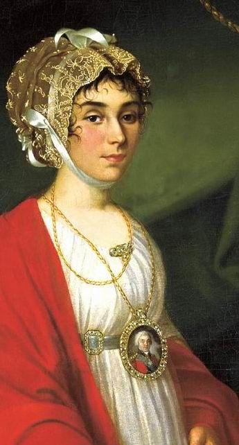 Argun Nikolai - Portrait of Countess Sheremetevs