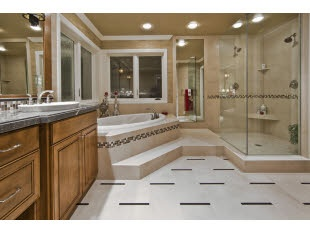 Be so nice - I love looking at big bathrooms online all day long :)