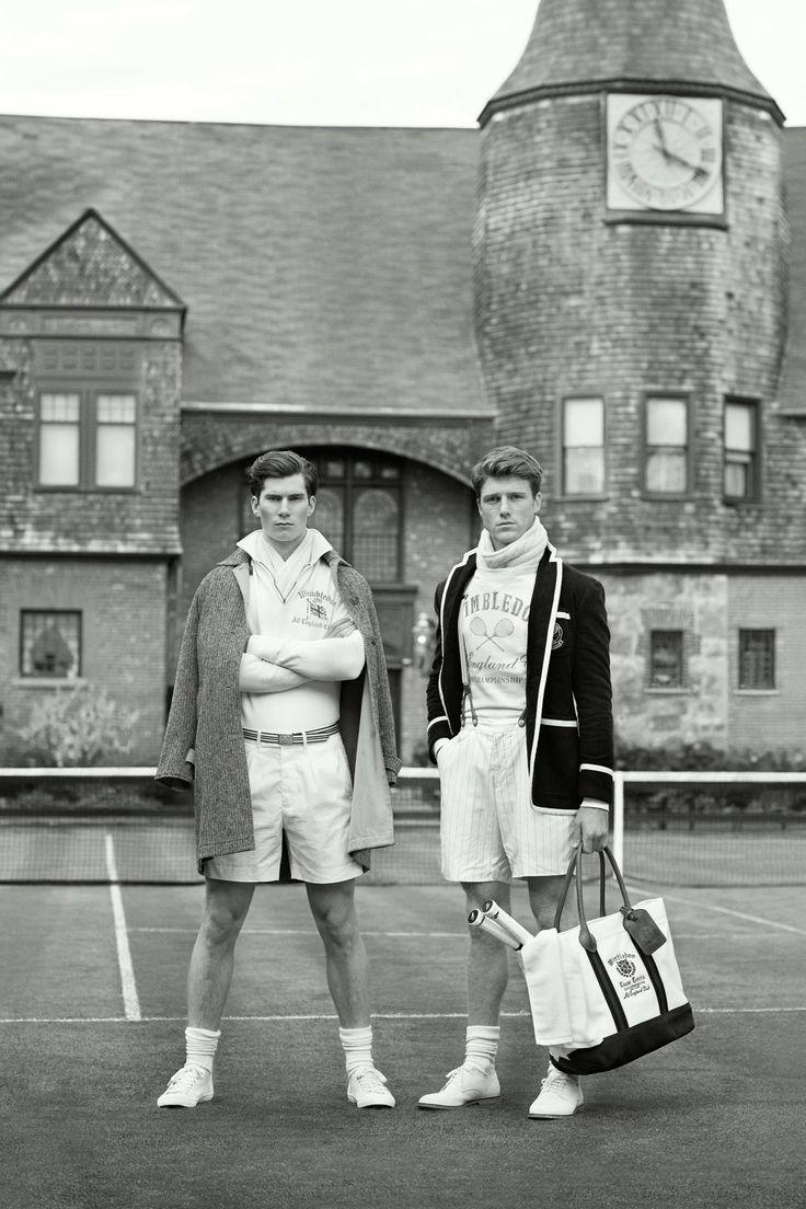 """If Gatsby played tennis, you'd have Ralph Lauren's 10th Anniversary Wimbledon attire - GQ.co.uk"""