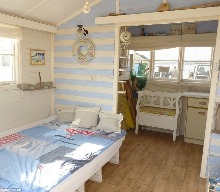 Beach themed bedrooms | Beach huts, Bedrooms and Beach