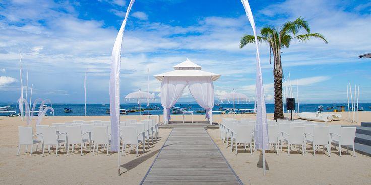 Watermark Wedding Venue at Tanjung Benoa, Nusa Dua, Bali #beach #beachwedding #baliwedding #uluwatu #nusadua