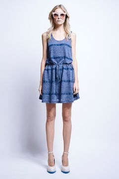 Outrigger Gathered Dress