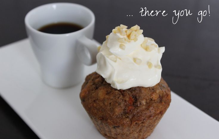 Carrot Cake Muffin http://www.advance-your-style.de/winterwonderland-food-carrot-cake-muffins/