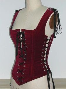 A sexy bodice...this stuff is wasted on the young!  #Bodice  #Renaissance Faire  #Garb