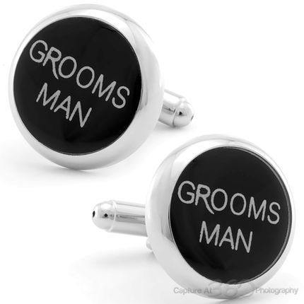 Groomsmen Wedding Cufflinks, Fine Men's Jewelry from Cufflinksman