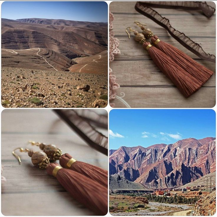 "Efulki Tassels ""Atlas Mountains"""