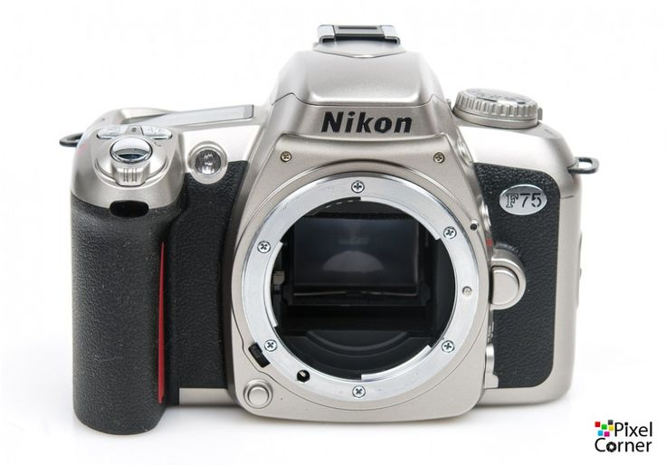 Nikon F75 camera body 35mm film SLR Silver - **READ** 2032622