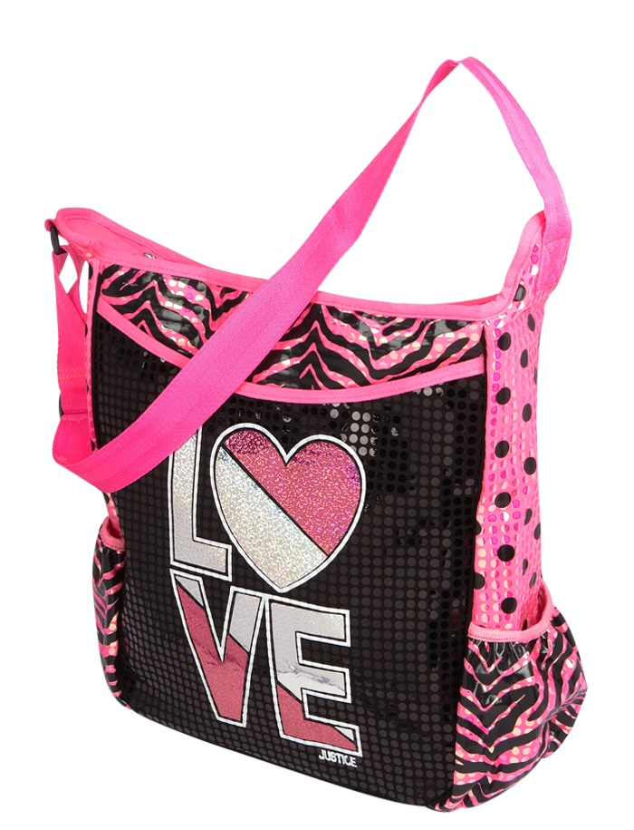 Justice Girls Cheetah Choose Initial Lunch Bag | Girls ... |Justice Wallets For Girls