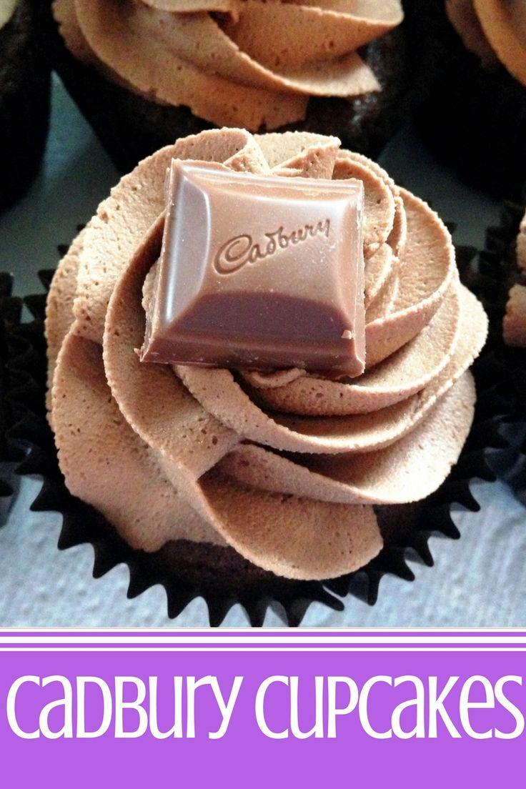 Cadbury Cupcakes!