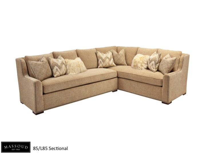 Massoud Loves This New 85/L85 Sectional. It Offers Plenty Of Comfortable  Space And. Transitional SofasFamily Room