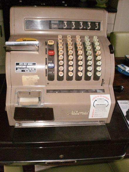So arbeitete ich 1982 an einer Registrierkasse. Ic…