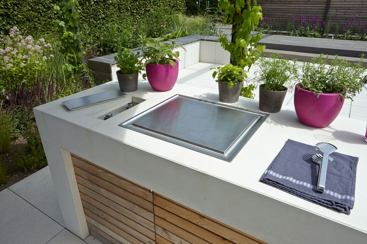 12 best GARDENING   furniture images on Pinterest Decks, Backyard - edelstahl outdoor küche