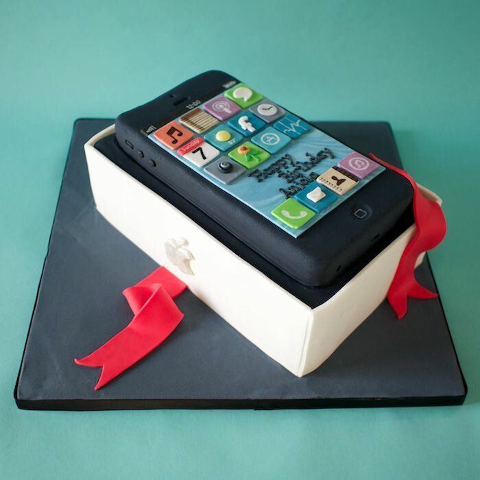 105 Best Mobile Phone Cakes Hello Hello Images On Pinterest