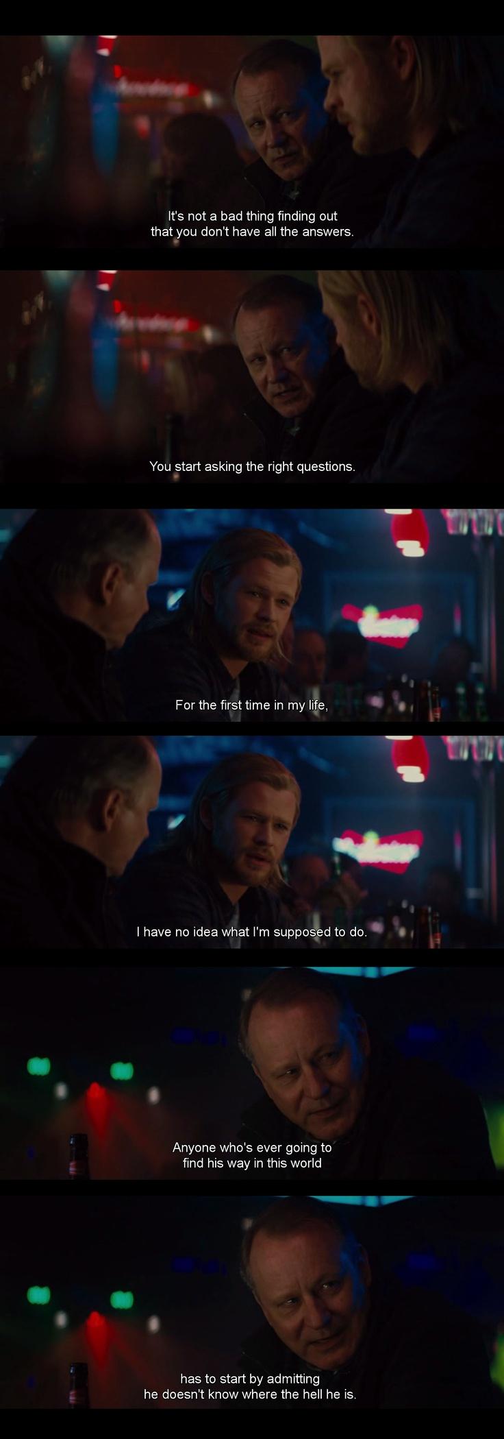 Thor movie quotes