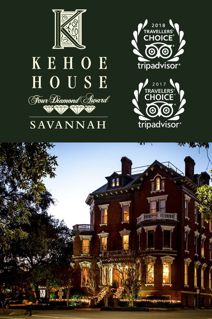 For The Second Year In A Row The Kehoe House Has Ranked Among The Top Small Hotel And Romantic Hotel Categories Savannah Hotels Romantic Hotel Savannah Chat