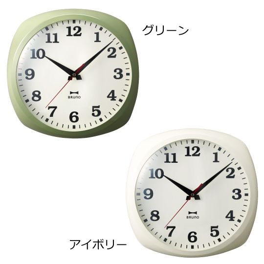 メタルフレームクロック/時計/壁掛時計/コンパクト/シンプル/ステップ秒針/見やすい/北欧/インテリア/インテリア雑貨/インテリアクロック/IDEA LABEL/イデアレーベル