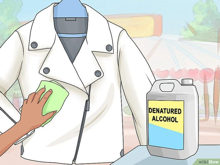 How to Clean a White Leather Jacket in 2020 White