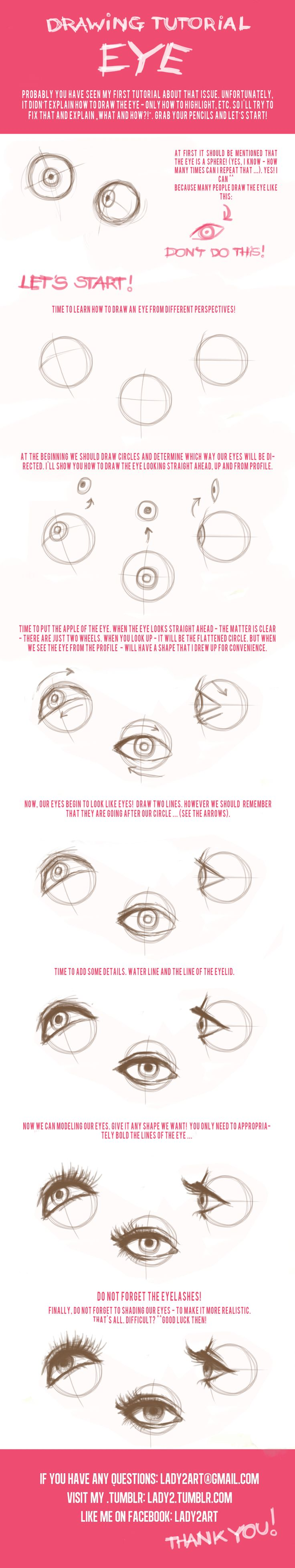Eye_tutorial By =lady2 On Deviantart · Drawing Eyesdrawing