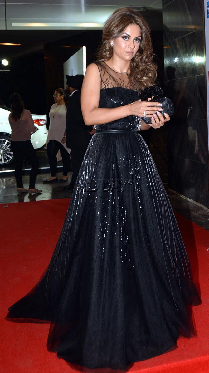 Natasha Poonawalla at an awards event. #Page3 #Fashion #Style #Beauty #Hot #Sexy
