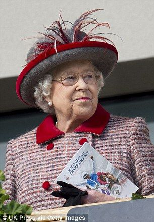 The Queen at the Queen Elizabeth ll Stakes at the Ascot QIPCO British Champions Day. 15 Oct 2016