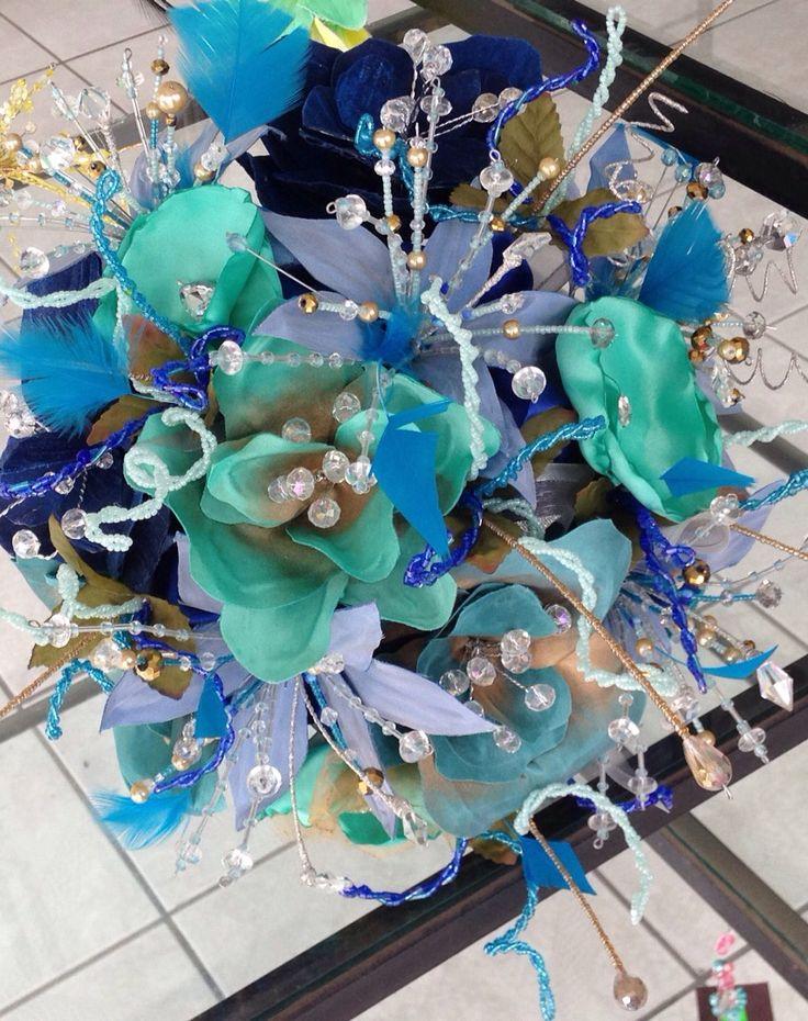 ramo jardin azul