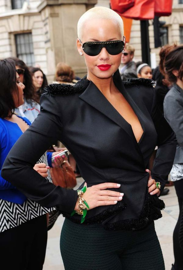 Amber Rose ...... She was born October 21, 1983