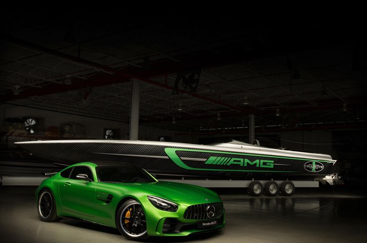 Mercedes-AMG and Cigarette Racing Partnership Marks 10th Anniversary With One-Off Boat Gallery via Automobile iPhone App