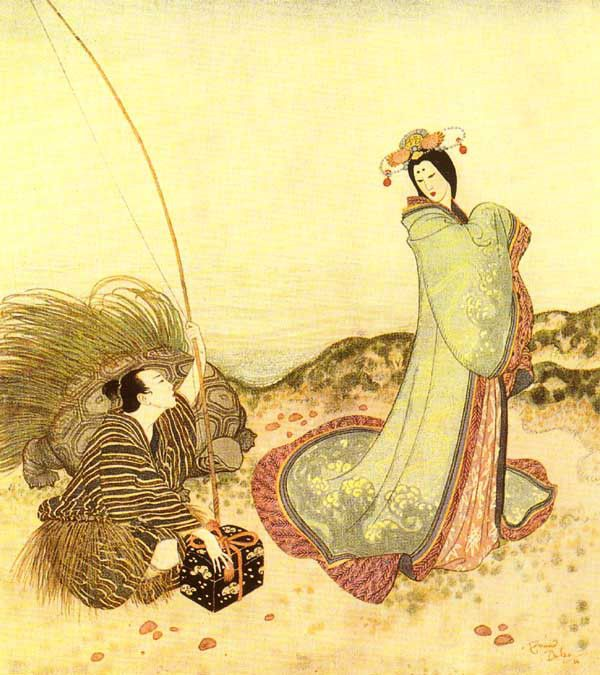 Edmund Dulac, Fairy Tales - Urashima