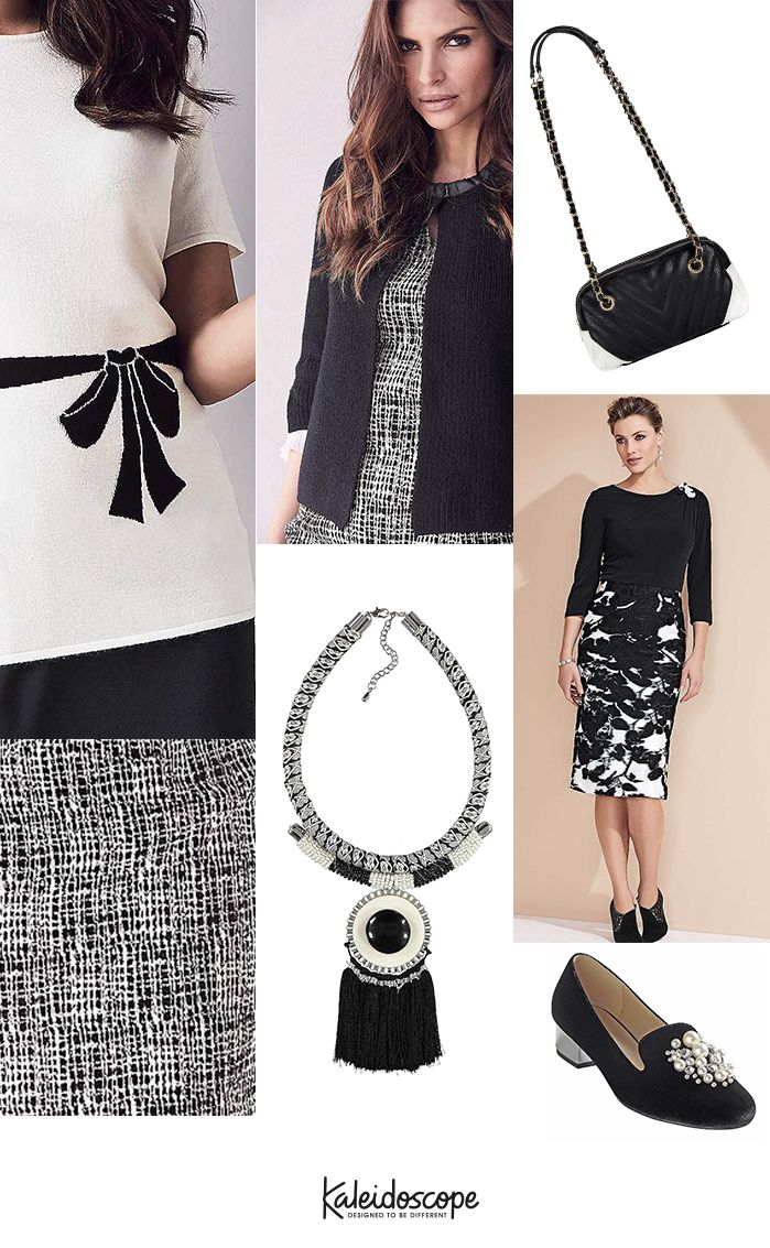 Monochrome fashion for women this Autumn – Kaleidoscope