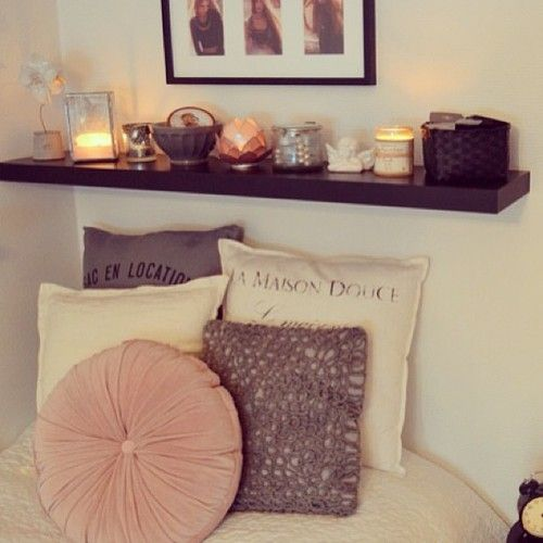 17 Best Images About Shelf Above Bed On Pinterest